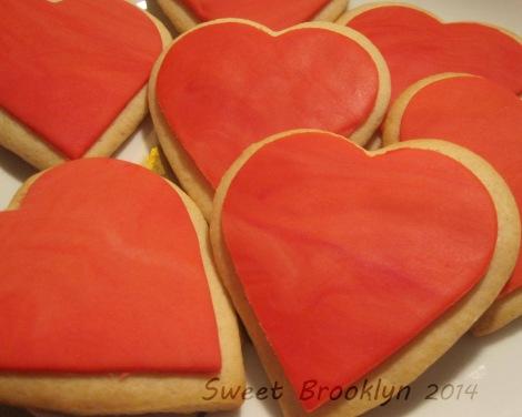 Red Heart Sugar Cookie